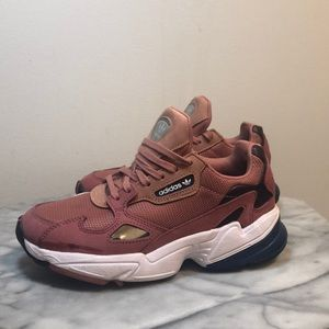 Pink adidas Falcon Sneakers